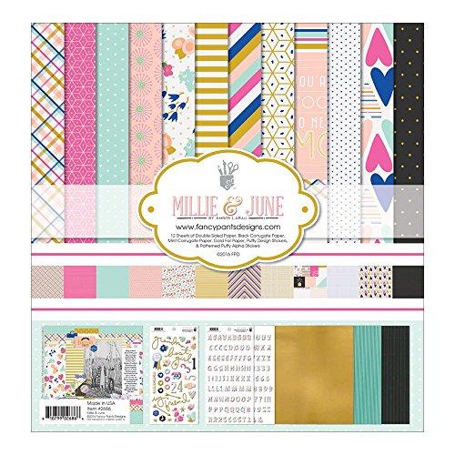 Fancy Pants Designs 2686 Millie & June Scrapbooking Collection - Fancy Pants Sheet
