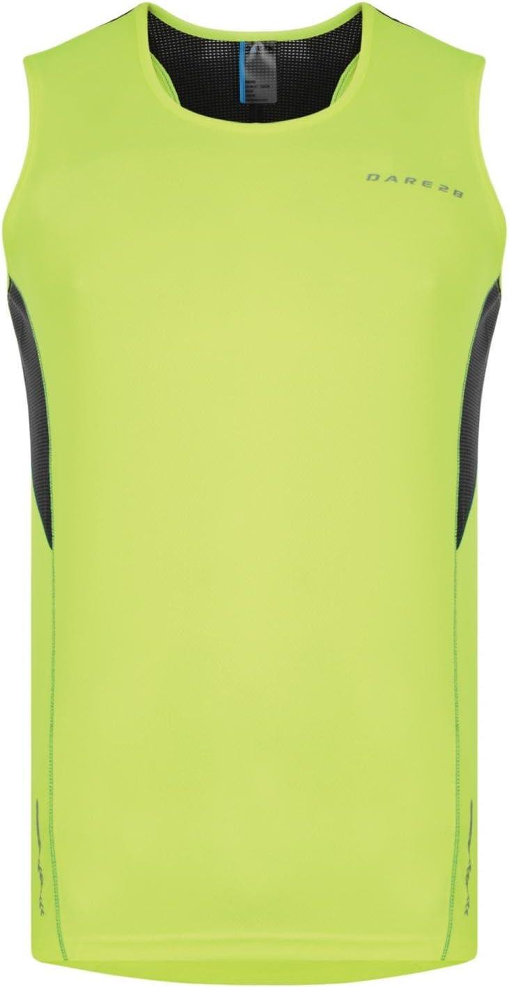Small Dare 2b Mens Instigate Vest-Fluorescent Yellow