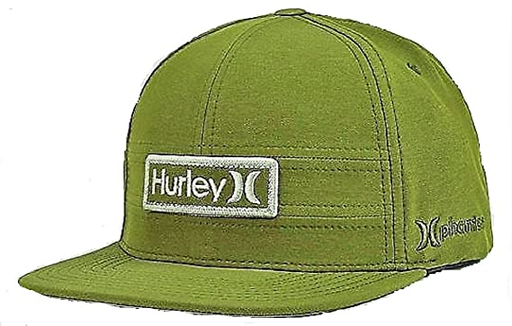 e30dc6b2835 ... closeout hurley mha0005960 mens phantom ever light snapback hat dark  army green os d4d2c fa771