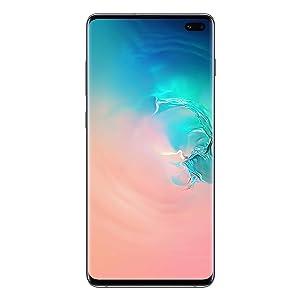 Samsung Galaxy S10 Plus Dual Sim - 128GB, 8GB RAM, 4G LTE, Prism White