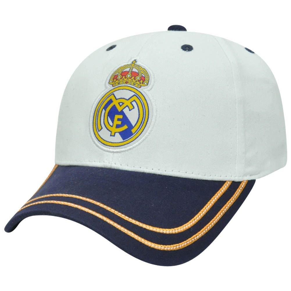 Amazon.com: Rhinox Real Madrid CF Two Tone Sun Buckle Soccer Spain Gorra Hat Cap La Liga: Toys & Games