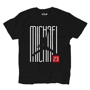 KiarenzaFD Camiseta Camiseta Baloncesto Michael Airness Jordan 23 Writers Chicago All Star Game, KTSA02056-