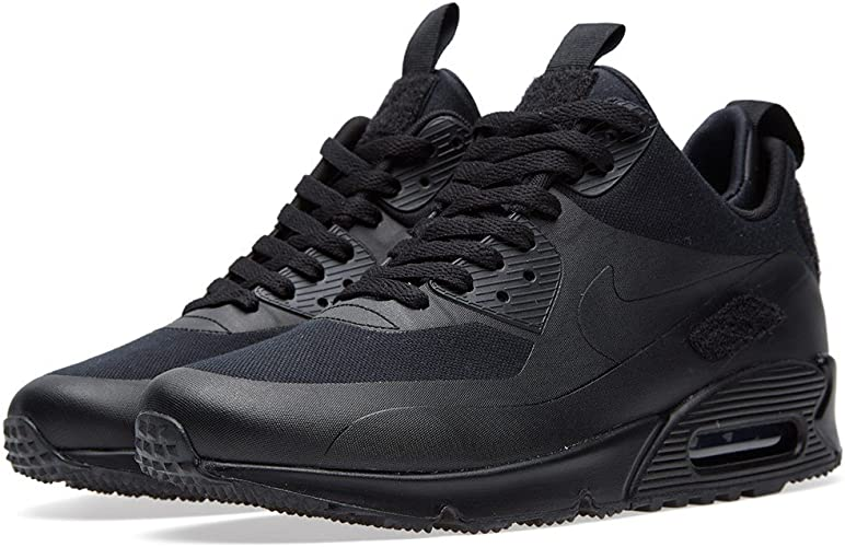 Nike Air Max 90 Sneakerboot SP Patch Black Trainer Size 6