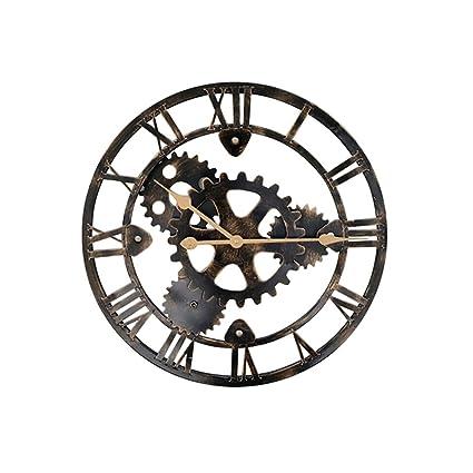 Horloge Murale Pendules Murales Silencieux Industriel Vent