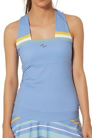 Naffta Tenis Padel Camiseta Tirantes, Mujer: Amazon.es: Deportes y aire libre