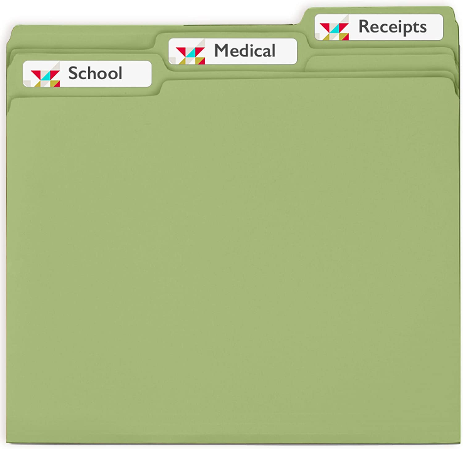 for sale online White Avery File Folder Labels 600 Total 8593