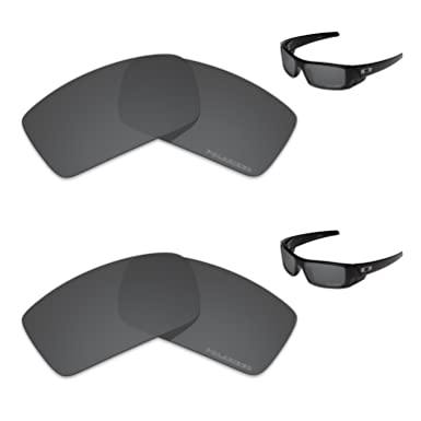 bcfad826e5 Image Unavailable. Image not available for. Color  Tintart Performance  Replacement Lenses for Oakley Gascan Polarized Etched ...