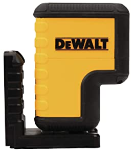DEWALT DW08302CG Green 3 Spot Laser Level