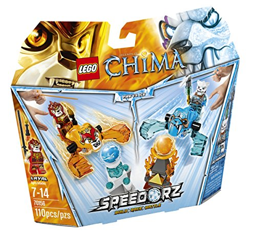 LEGO Chima 70156 Fire vs. Ice Building Toy