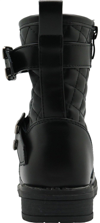 Non-Slip Autumn Kids Girls Shoes Riding Boots Little Kid Durable Color : Black , Size : 10 M US Toddler