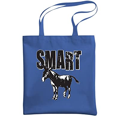 - SMART ASS - sarcastic joke gag donkey - Heavy Duty Tote Bag