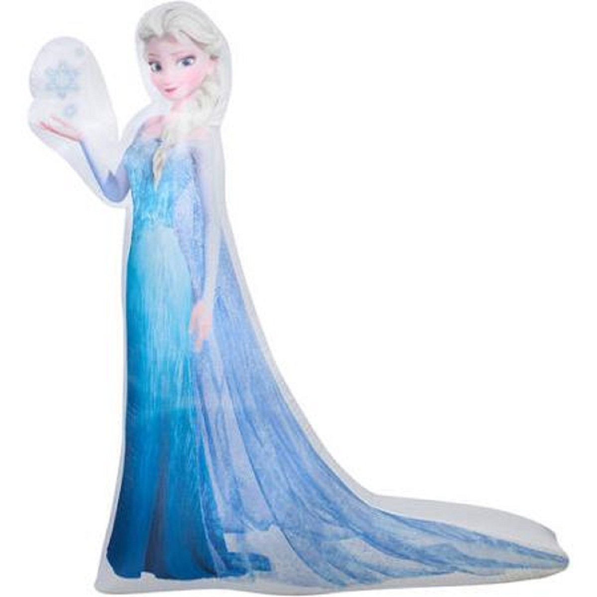 amazoncom christmas inflatable 5 led photoreal elsa disney frozen outdoor yard decoration garden outdoor - Disney Inflatable Christmas Decorations