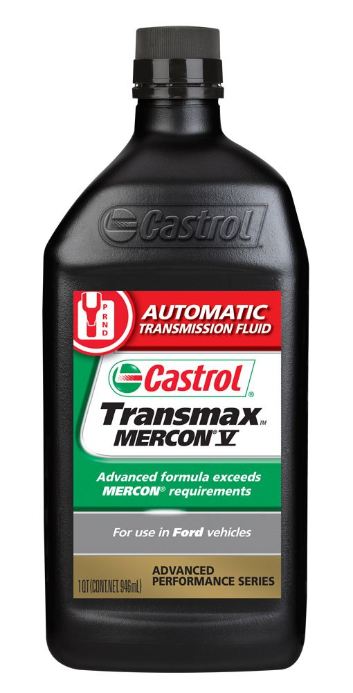 Castrol 6818 Transmax Mercon V ATF, 1 Quart, Pack of 6