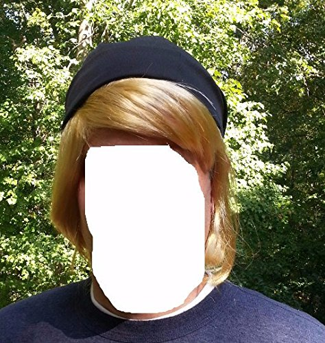 Frozen Costumes Boy (Kristoff Wig frozen snow blonde costume wig + hat)