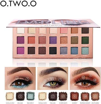 Paleta de sombras de ojos de Battnot en 21 colores, cosméticos mate, paleta de maquillaje, sombra de ojos, sombra de ojos, crema, cosmética: Amazon.es: Belleza