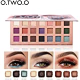 Sunbona (TM) O.Two.O Waterproof Lasting Matte Eyeshadow Cream Makeup Palette Shimmer Set Eye Shadow