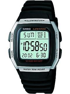 0ccb182d543 Relógio Masculino Casio Digital W-59-1VQ - Preto  Amazon.com.br ...