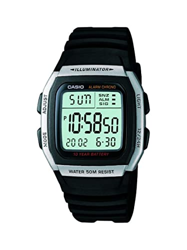 57037a04c9 Buy Casio Youth Digital Grey Dial Men's Watch - W-96H-1AVDF (D031) Online  at Low Prices in India - Amazon.in