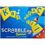 Scrabble Junior Türkçe – Kutu Oyunu, Mattel Games Y9733