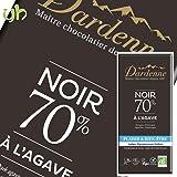 [3枚] カカオ70% ダーデン 有機アガベチョコレート ダーク 100g