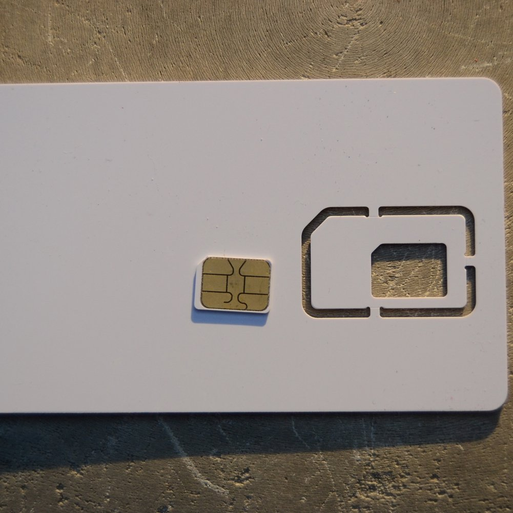 Nano tarjeta en blanco Usim tarjeta 4 G LTE WCDMA GSM ...