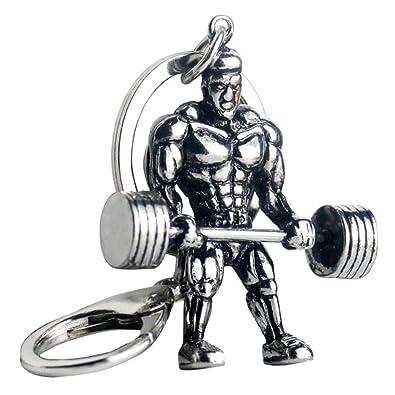 Amazon.com: CHENCAN01 Llavero de fitness para levantamiento ...