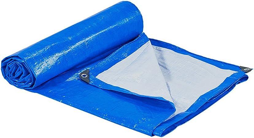 Étanche Bâche Léger Sol Feuille Camping bâche couverture bleu