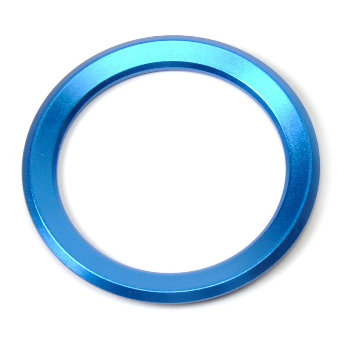 beler Auto Volante Centro Decorazione Anello Coperchio blu