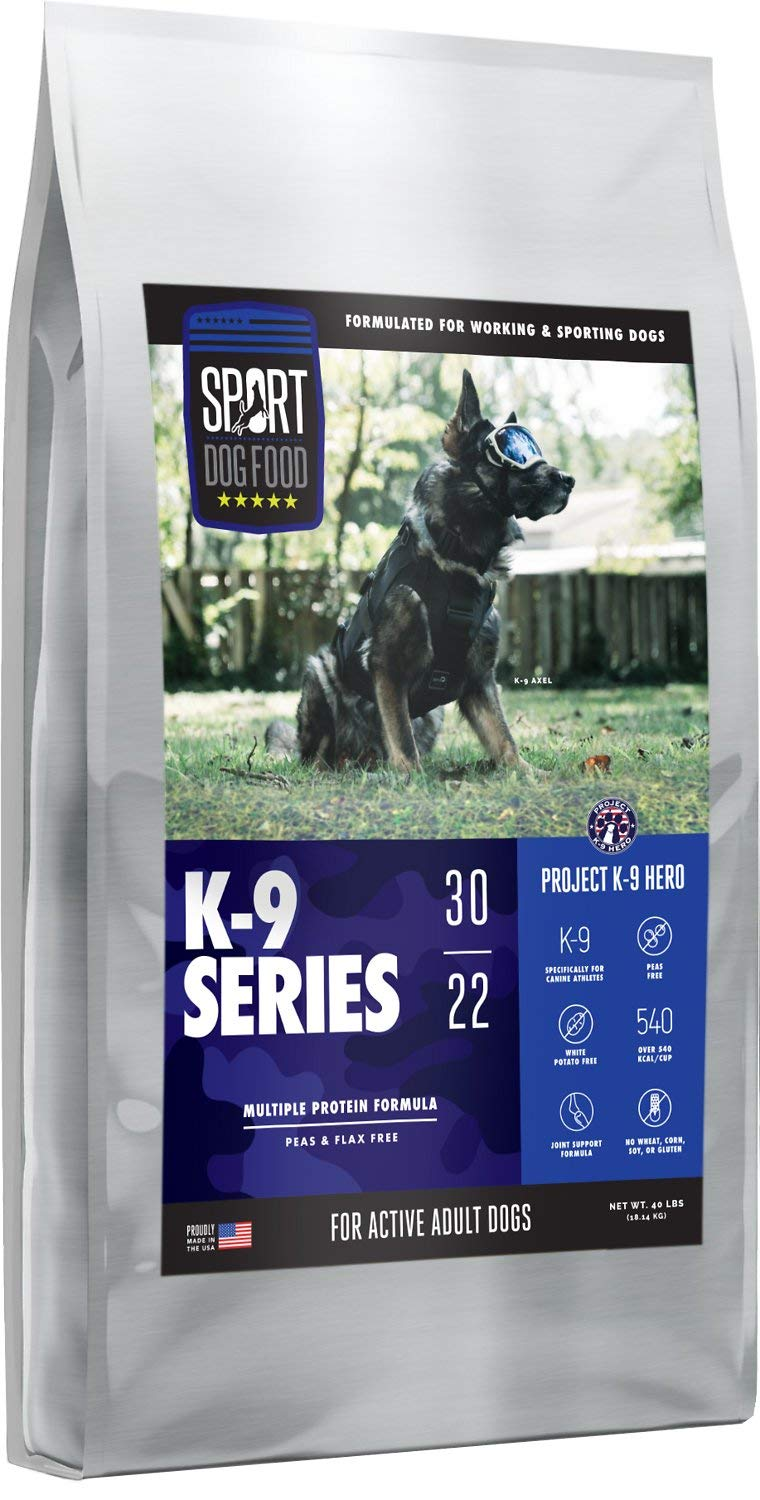 SPORT DOG FOOD Project K9 Multi Protein Endurance Formula by SPORT DOG FOOD