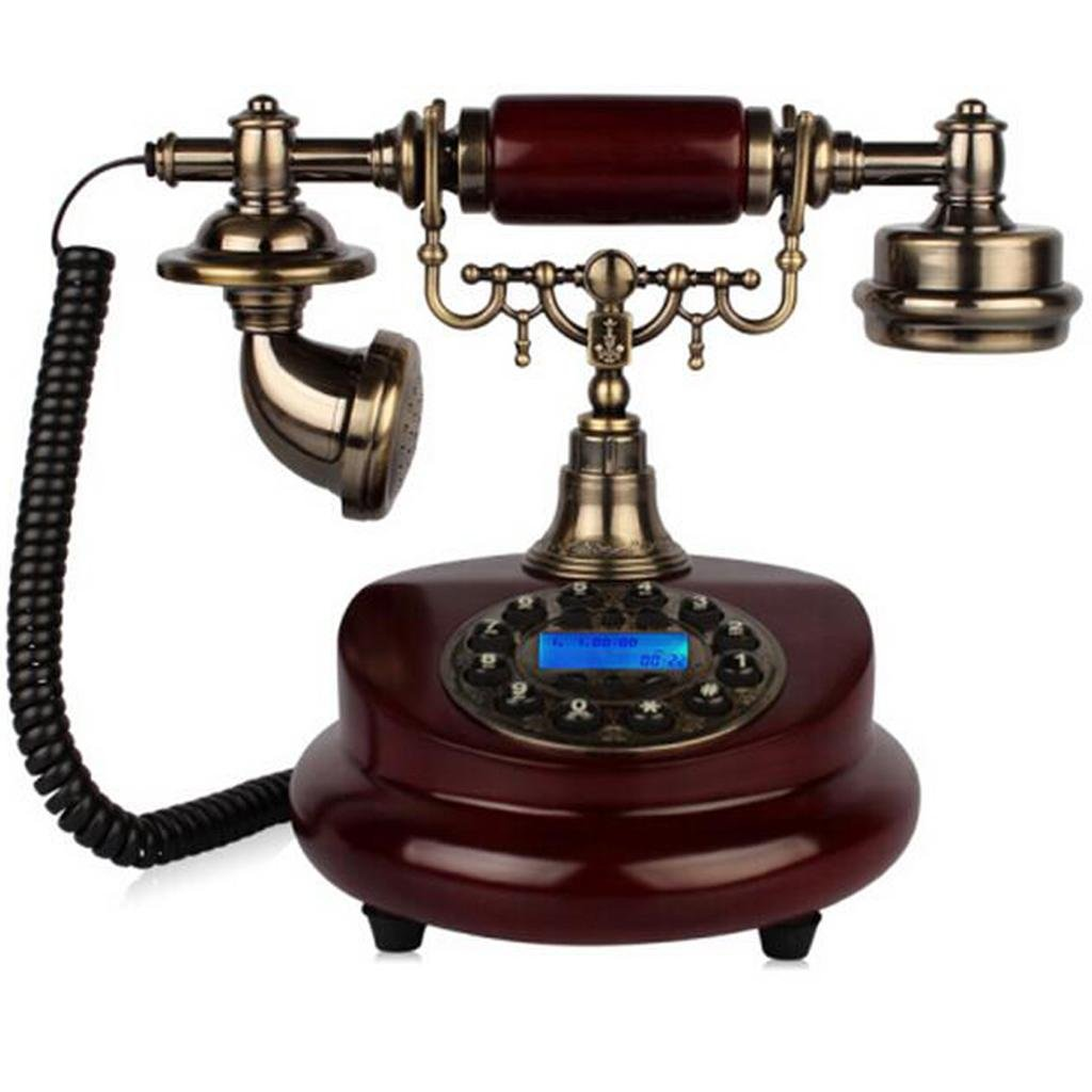 FADACAI Antique Phone European-Style Retro Living Room Bedroom Home Seat Machine Old Piano Phone by WANG
