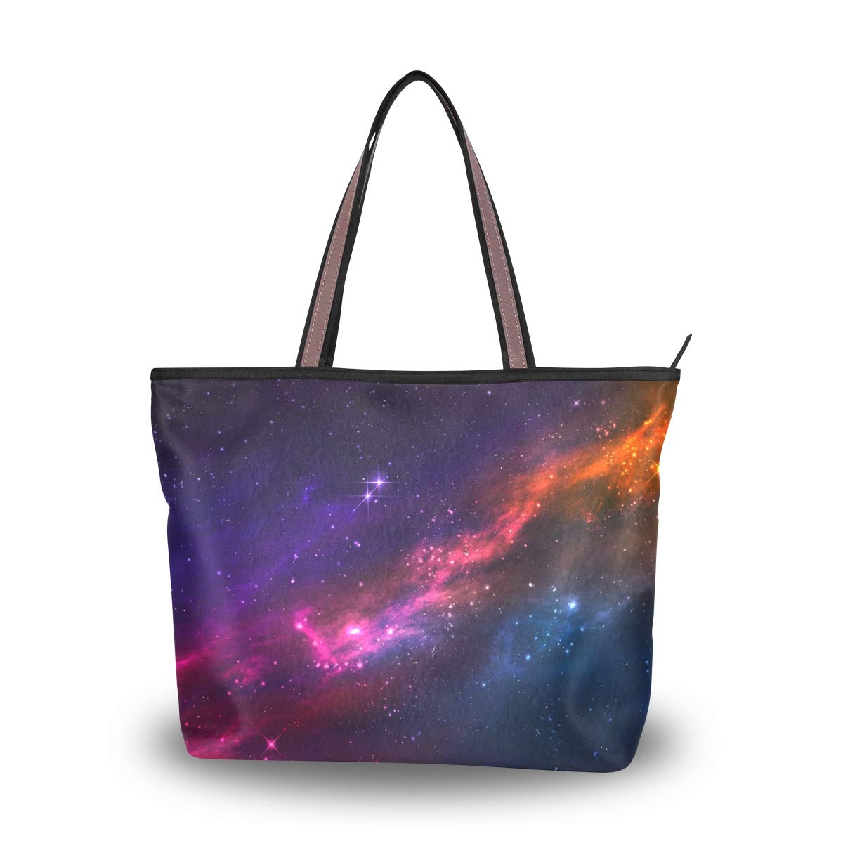 My Daily Women Tote Shoulder Bag Cosmic Nebula Galaxy Handbag