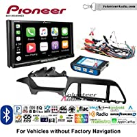 Volunteer Audio Pioneer AVH-W4400NEX Double Din Radio Install Kit with Wireless Apple CarPlay, Android Auto, Bluetooth Fits 2015 Hyundai Sonata