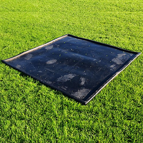 FORB Rubber Golf Mat Base  5ft x 5ft  - Anti-Skid Protective Rubber ... 7e35274c2a5