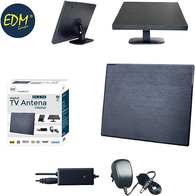 eDM 52023 Antena TV UHF Interior 470-862 MHz