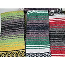 Yogavni (TM) Traditional Mexican Yoga Blankets - Assorted Colours