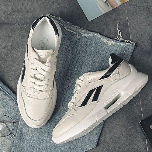 Negro Zapatos Deportivos Elegir y Primavera Dos Moda Gruesos Zapatos Fondo Casuales de de Zapatos Colores Nan de mujer Verano Para xqgy0Hw