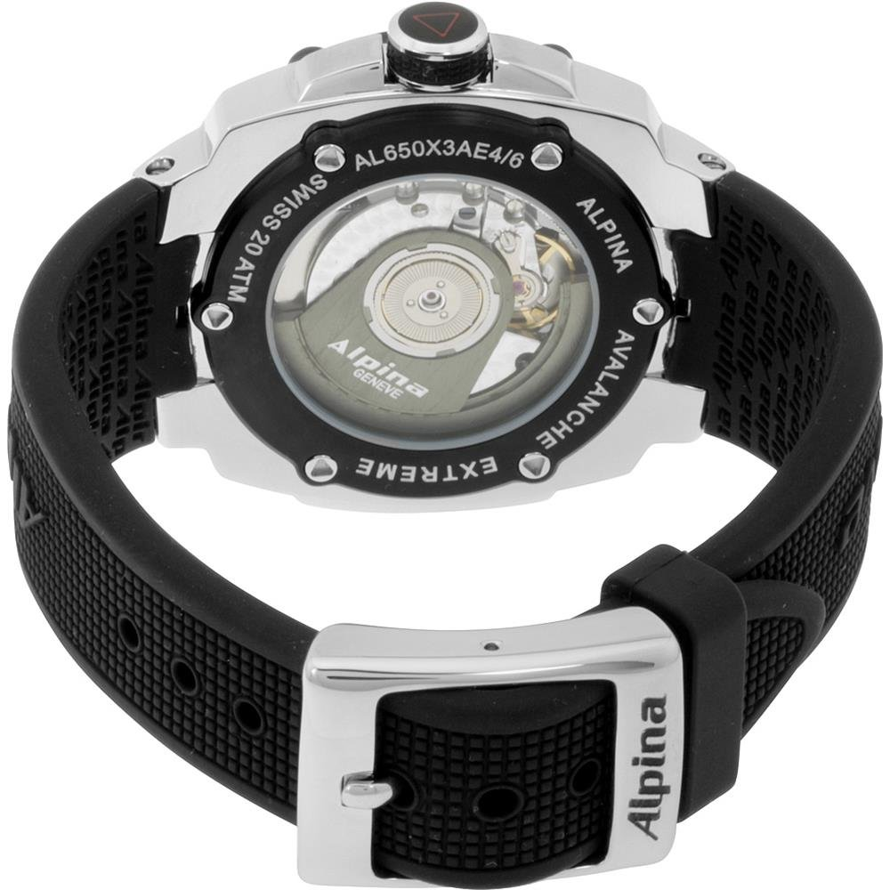 Amazon.com: Alpina Avalanche Extreme Regulator Black Dial Ladies Watch AL650LBBB3AE6: Watches