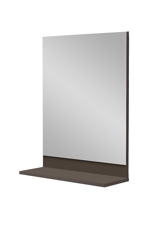 Unbekannt FMD Möbel Alan 7 Garderobenspiegel, Holz, Lava, 50 x 18.5 x 67 cm