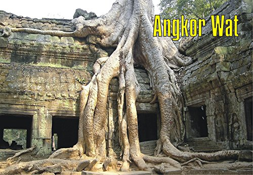 Angkor Wat, Cambodia, Hindu Temple, Largest Religious Monument in the World, Souvenir Magnet 2 x 3 Fridge Magnet (Best Hindu Temples In The World)