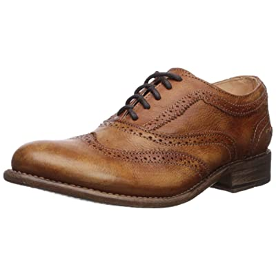 BED STU Women's Lita Tan Driftwood Oxford | Oxfords
