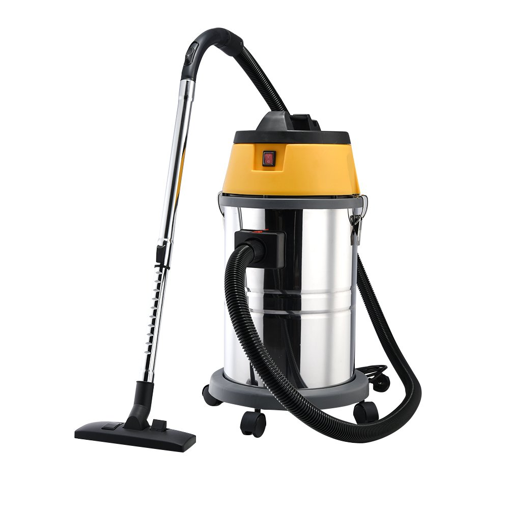 Britoniture 30L 1500W Wet & Dry Vacuum VAC Cleaner Industrial with Stainless Steel BOCHEN