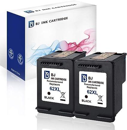 BJ - Cartuchos de Tinta remanufacturados para HP 62 XL 62XL para ...