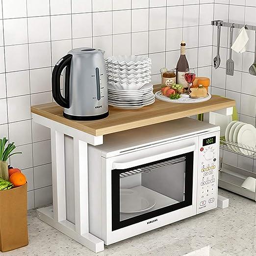 MMMP Estante de Cocina/Estante de microondas/Piso/Marco de Acero ...