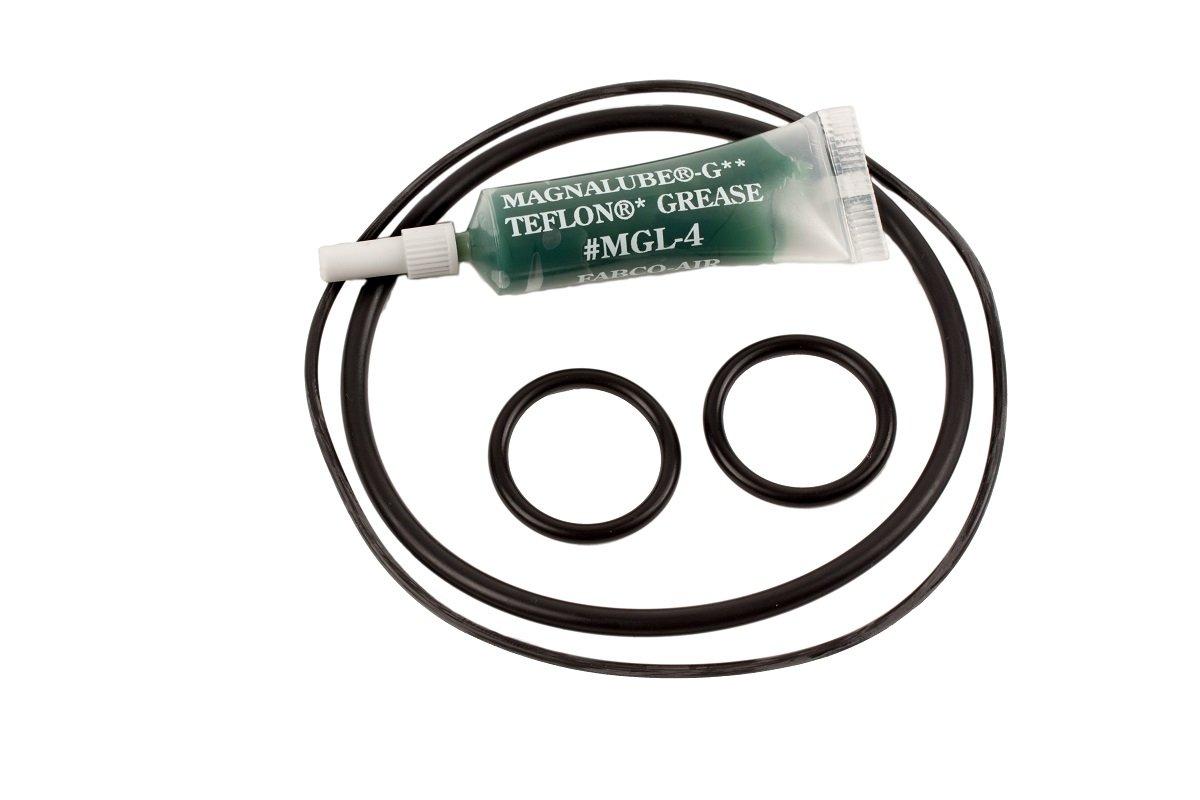 Fabco-Air 721-SK Original Pancake Nitrile Seal Kit, 3' Bore Diameter