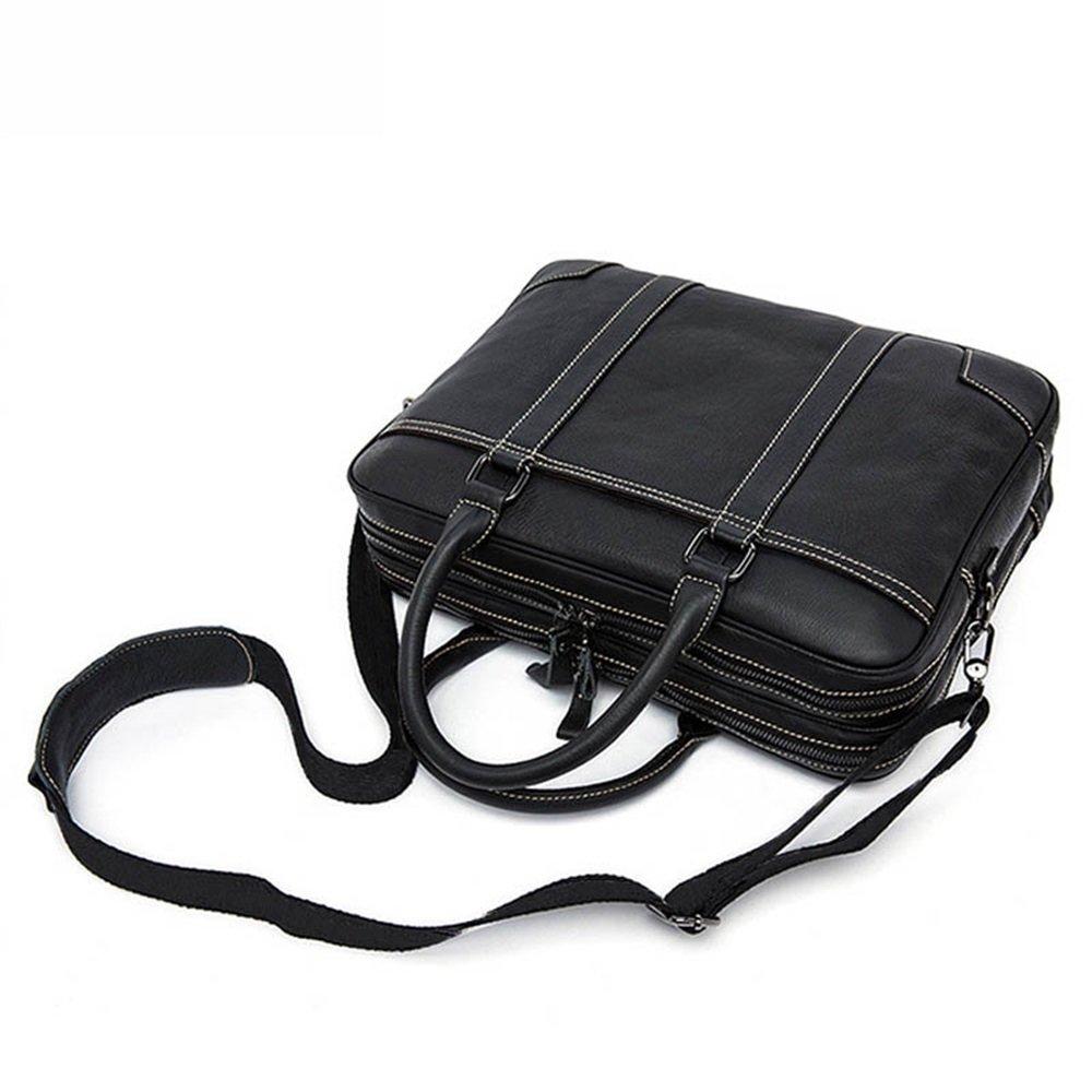 Business Briefcase LBYMYB Mens Bag Business Tote Mens Briefcase Mens Shoulder Messenger Bag Men Black