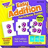 TREND ENTERPRISES INC. EASY ADDITION PUZ FUN-TO-KNOW (Set of 12)