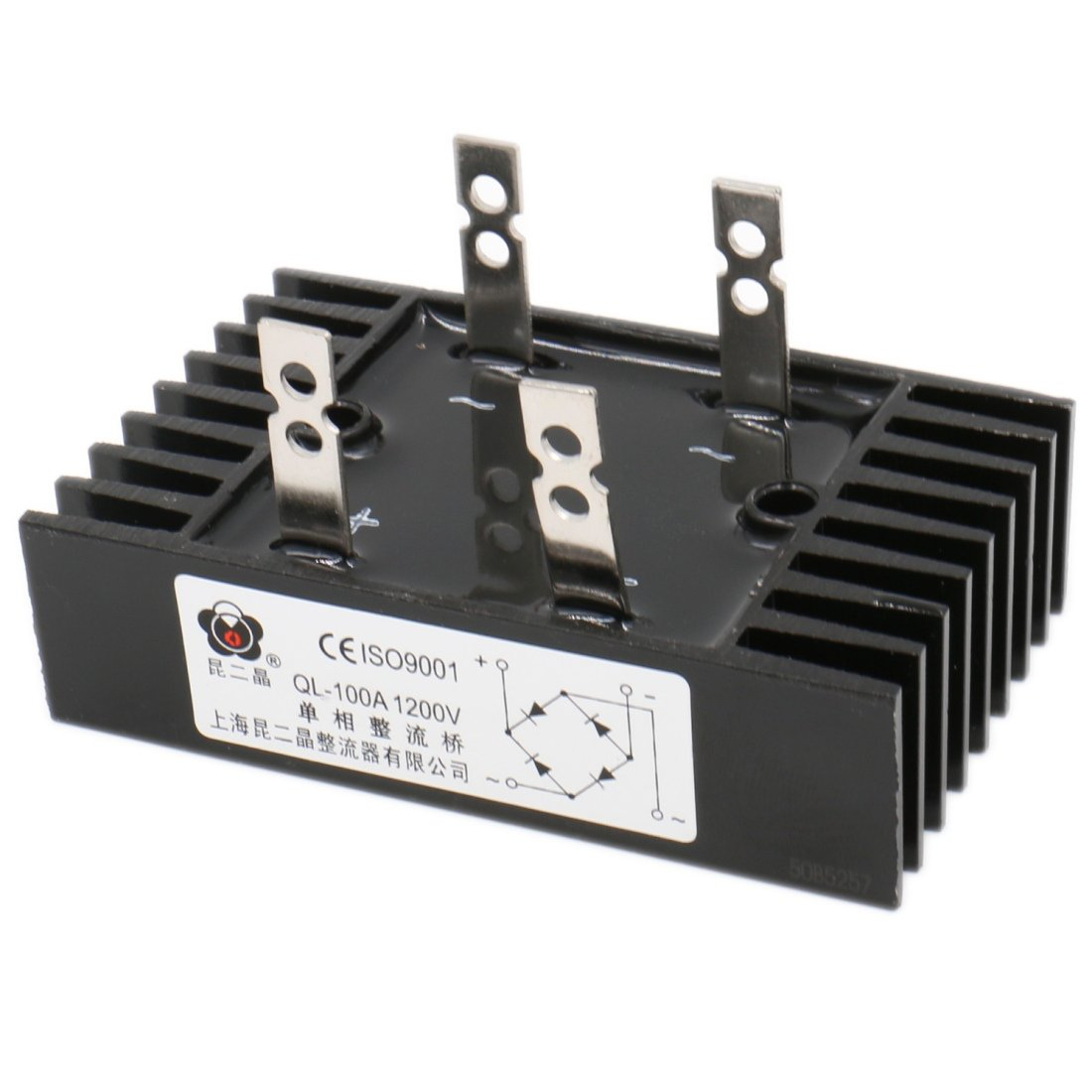 Baomain 100a Amp 1200v Volt Diode Bridge Rectifier Metal Ql100a Let39s Design A Circuit With Halfbridge Converter Click On Image To Radio Frequency Transceivers Industrial Scientific