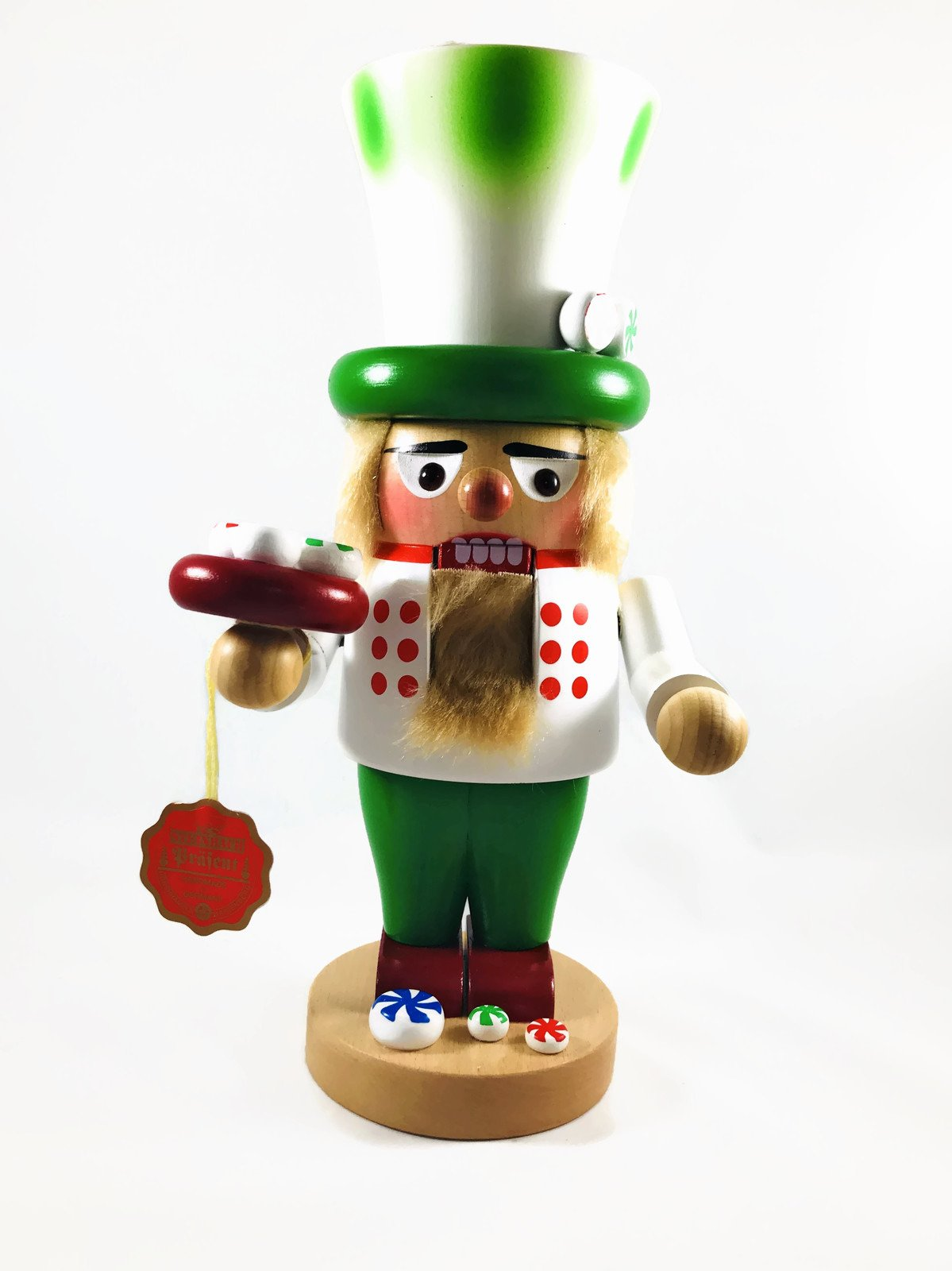 Steinbach Nutcrackers Troll Candymaker 12 Inches Tall Kurt Adler Brand New Hand Made in Germany