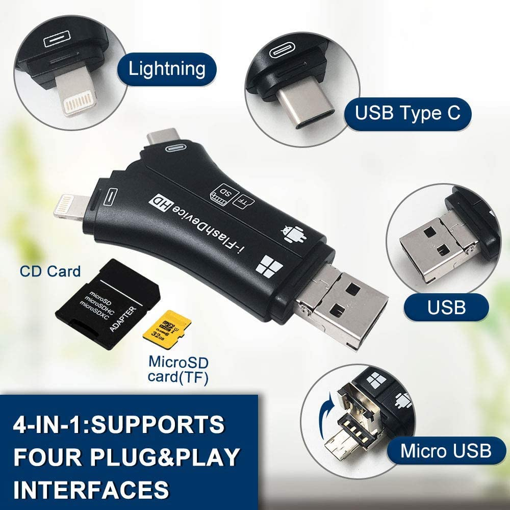 SanFlash PRO USB 3.0 Card Reader Works for Nokia 6 Adapter to Directly Read at 5Gbps Your MicroSDHC MicroSDXC Cards