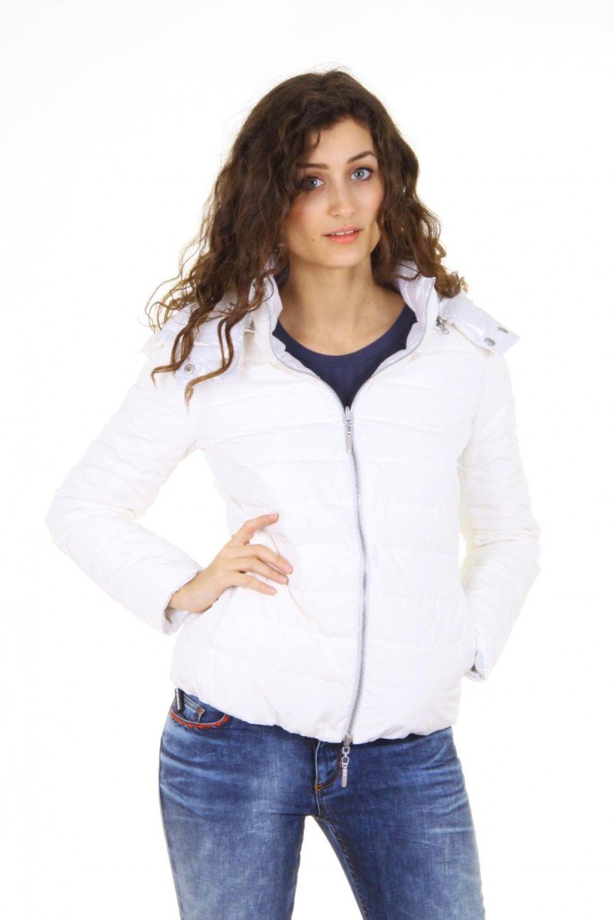 White 42 EUR - 6 US Emporio Armani ladies jacket AGB34 GA 10 by Emporio Armani